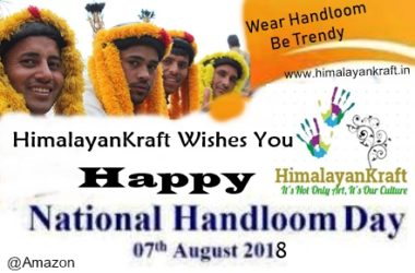 national Handloom Day- www.himalayankraft.in