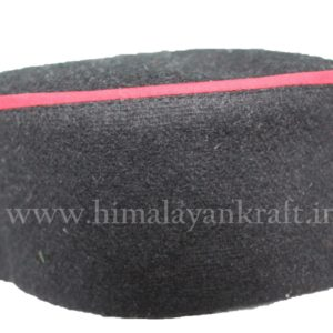 Malani Topi (Cap)- Black Color – Feel Tradition