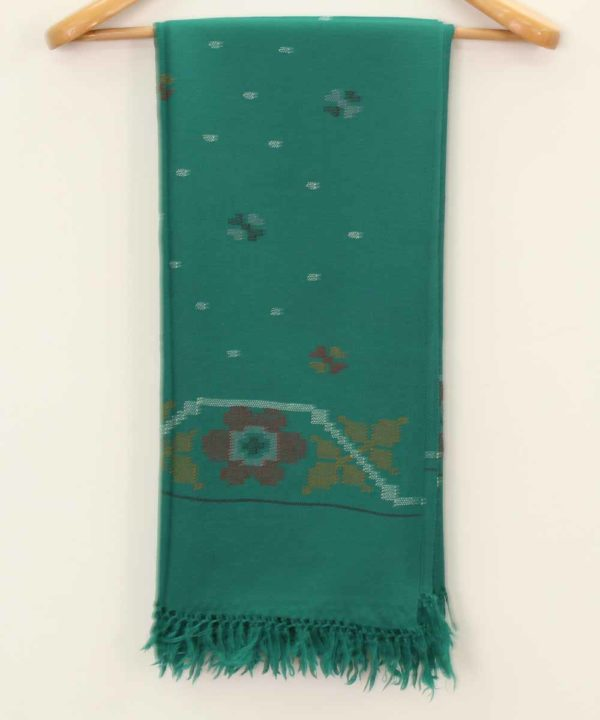 Designer Marino Wool Shawl HandWoven Kullu Handloom-www.himalayankraft.in