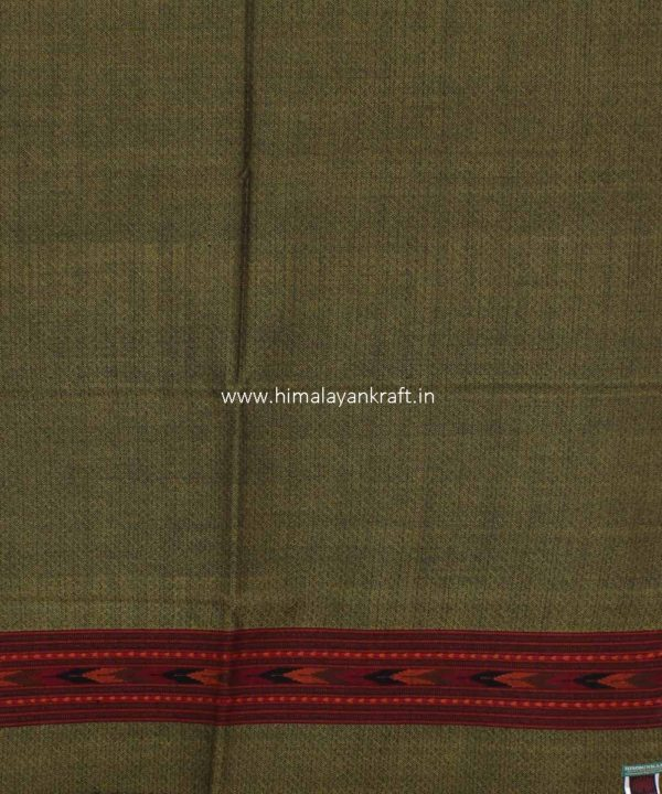 Traditional Stole Woolen Handwoven Embroidered Handloom Himachal-www.himalayankraft.in