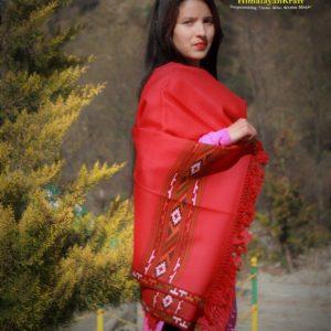 Warm Shawl By Himalayan Weavers Wool Shawl Handloom