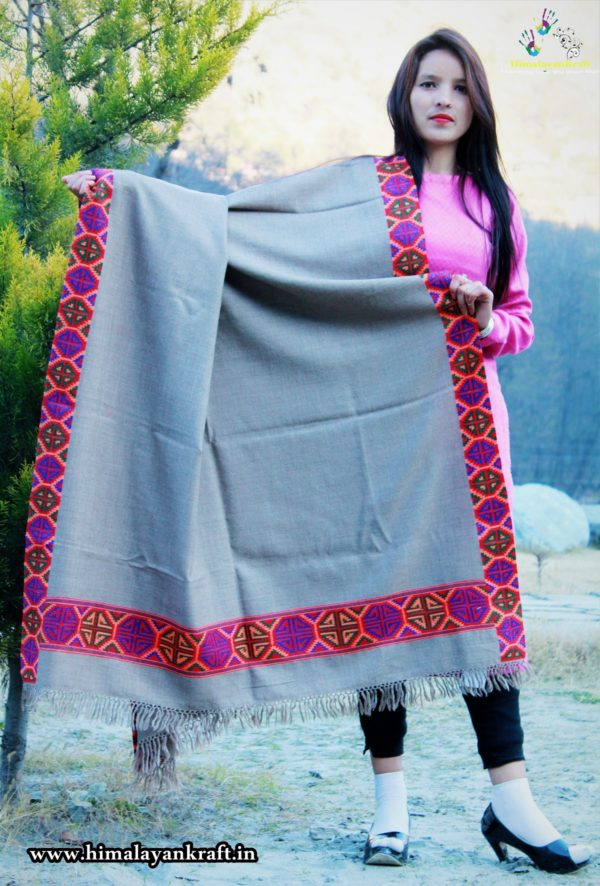 Kullu Shawl, Kinnauri Shawl, Kinnaur Shawl Kinnor Shawl, Marino Wool Shawl, HandLoom Shawl,m Hand Weaving Shawl, Handmade Shawl