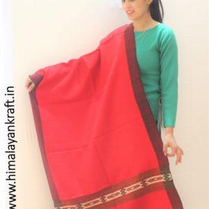 Kullu Handloom Pure Wool Hand Woven Scarf Stole for Ladies