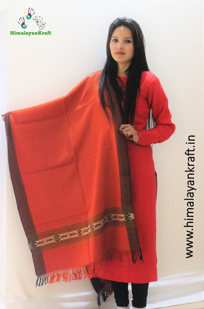 Stoles for Women : Buy Kullu Handloom Stole online At Best Price in India-www.himalayankraft.in