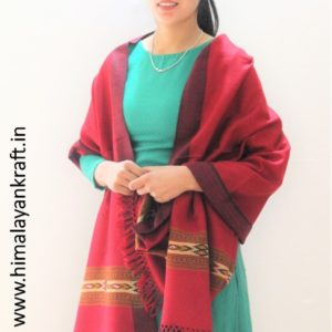 Pure Wool Stole | From World Famous Kullu Handloom