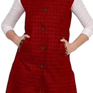 Women Winter Long Jacket with Beautiful Kullu Patti