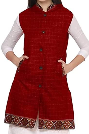 Women Long Wool Jacket by HimalayanKraft
